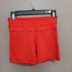Lululemon Red Hot Yoga Shorts Size 4